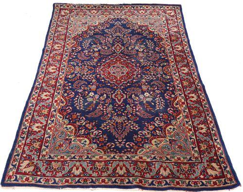 "Persian Area Rug, 5' 11"" x 4'"