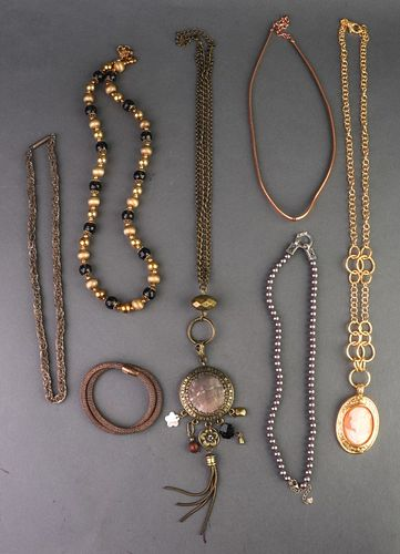 Misc. Silver & Other Mixed Metal Jewelry, 8
