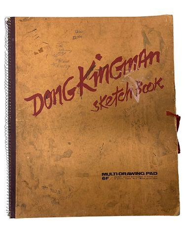 RARE Dong Kingman Estate Erotic Sketch Book