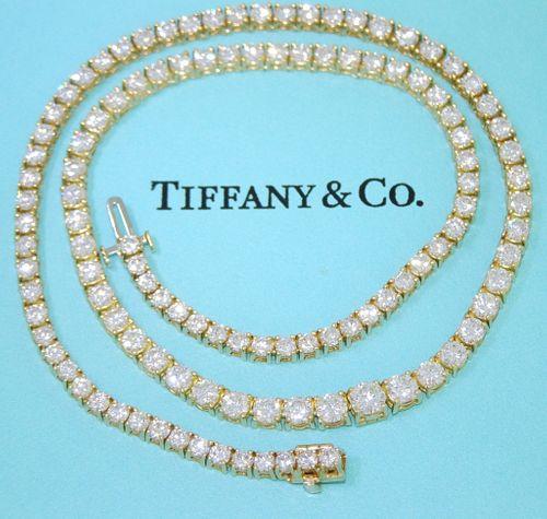 Tiffany & Co 12.38ct Riviera Retail $70,000