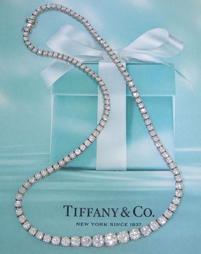 Tiffany & Co 15.20ct Riviera Retail $110,000