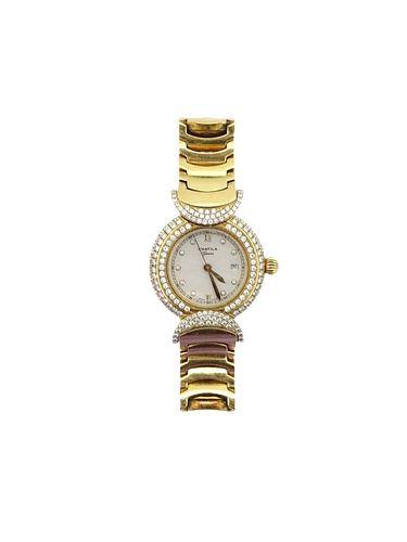 Chatila, Lady Weekend Diamond Set 18K Watch