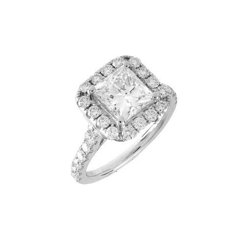 EGL Diamond and 18K Ring
