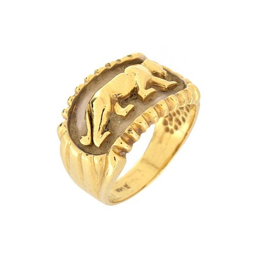 Cartier style 14K Ring
