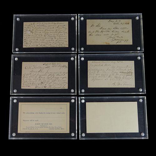 Five (5) U.S. Postal Cards in Presentation Cases