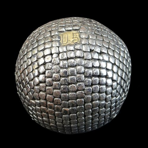 Antique French Petanque Ball