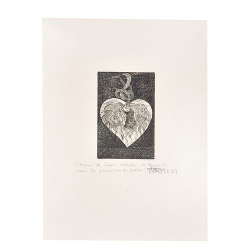 20th C. French Etching