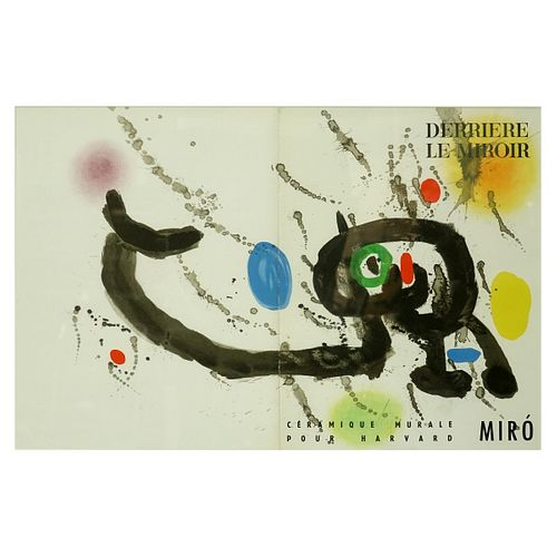 After: Joan Miro, French (1893 - 1983) Art poster