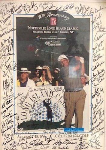 Autographed Northville LI Charity Golf Tournament
