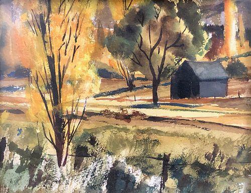 John Rogers Watercolor