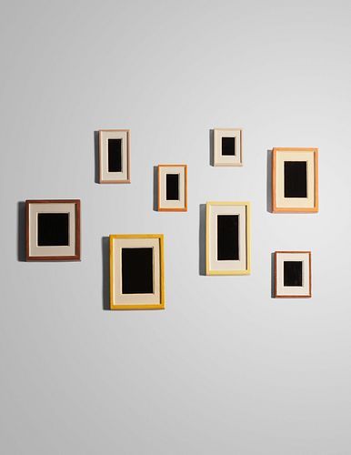 Allan McCollum (American, b. 1944) Eight Plaster Surrogates, 1982/1989