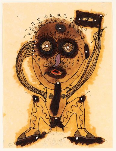 Alberto Porta Zush (Spanish, b. 1946) Ego Tafutz Edor and Neshiles', 1982 (a pair of works)