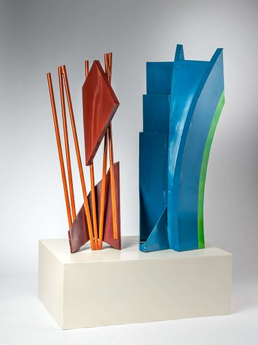 Philip King (British, b. 1934) Maquette for New Orleans, 1974