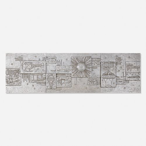 John Smith, Untitled (wall panel)
