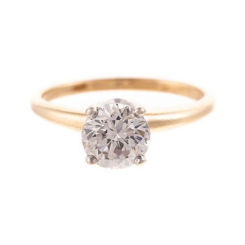 A 1.10 ct Diamond Engagement Ring in 14K