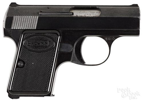 Belgian Browning Baby model semi-automatic pistol