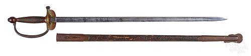 Henry Allien & Co. USMC model 1840 NCO sword