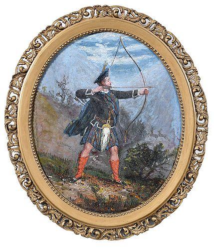 British or Scottish School Painting