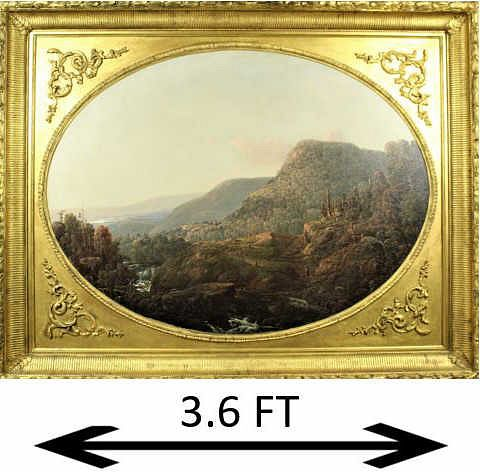 William Louis Sonntag Sr (1822 - 1900) Oil/Canvas