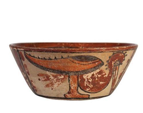 Central American Polychrome Bowl
