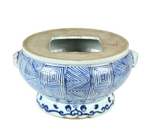 Chinese Blue and White Stoneware