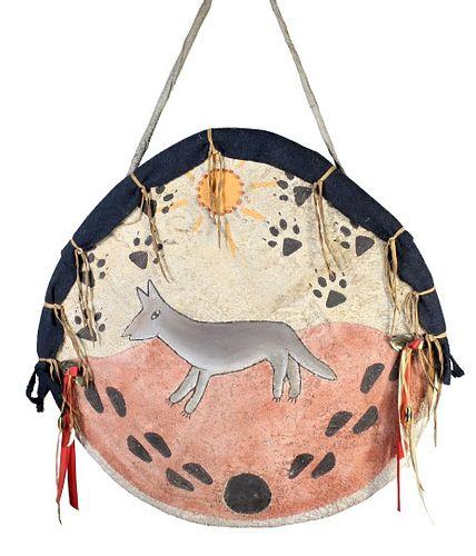 Native American & Southwestern Hide Shield