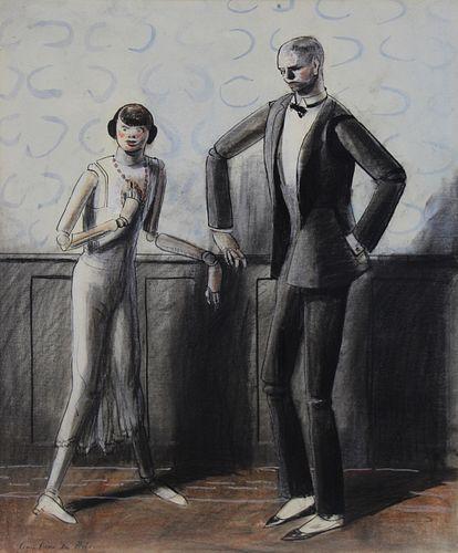 GUY PENE DU BOIS (AMERICAN, 1884-1958).