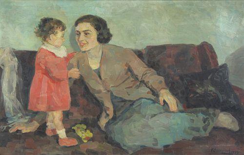 KOSTAS ARGYRIOU (GREEK, 1900-1984).
