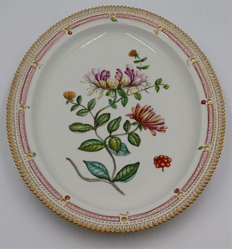 """Royal Copenhagen """"Flora Danica"""" Serving Platter."""
