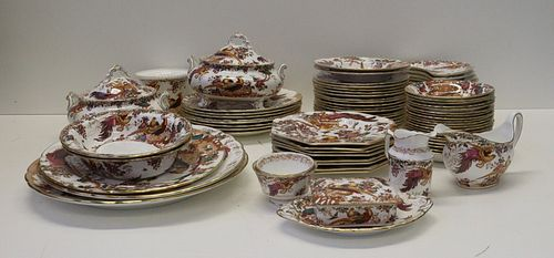 Grouping of Royal Crown Derby Olde Avesbury China