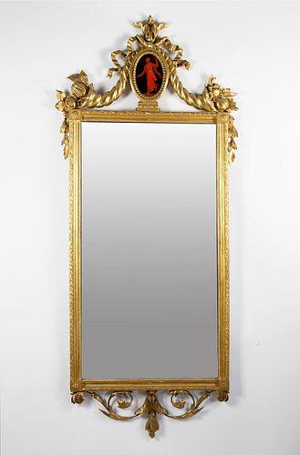 Neoclassical Gilt Framed Mirror, 18th Century