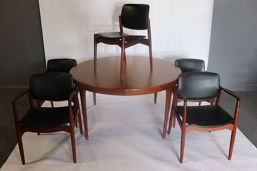 Midcentury Danish Modern Teak Table And
