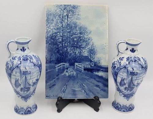 Grouping of Delft Pottery.