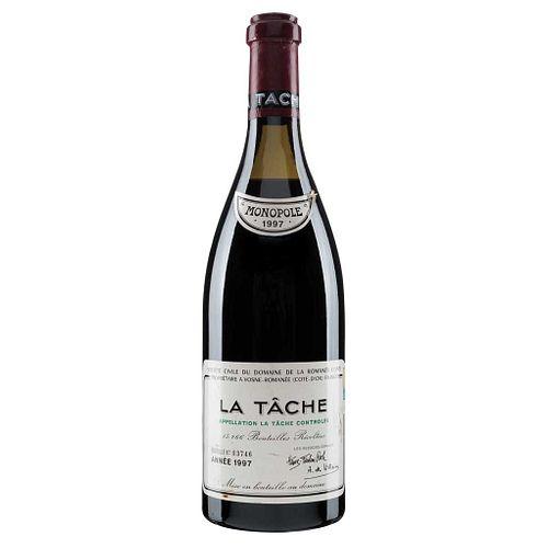 La Tâche. Cosecha 1997. Domaine de la Romanée - Conti. Vosne - Romanée. Nivel: a 5.2 cm. Calificación: 93 /...