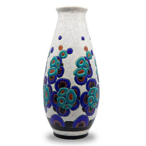 Charles Catteau for Boch Freres Vase