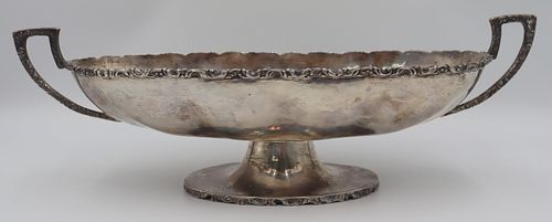 STERLING. Signed Mexican Sterling Center Bowl.