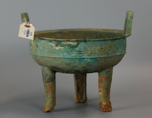 Chinese bronze food vessel, possibly Shang dynasty