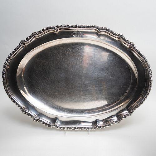 George III Silver Platter