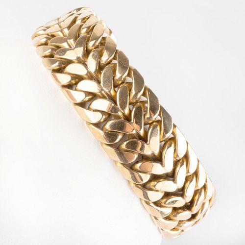 18k Gold Link Bracelet