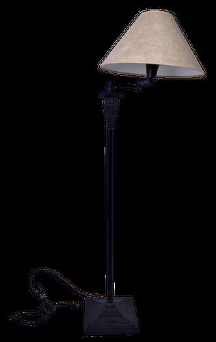 Standing Iron Swivel Lamp with Shade