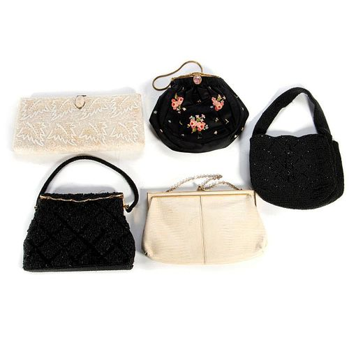 Beaded evening purses