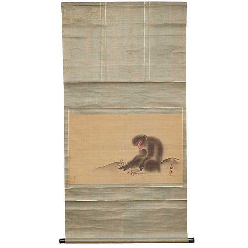 Monkey Scroll