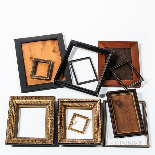 Twelve Small Picture Frames