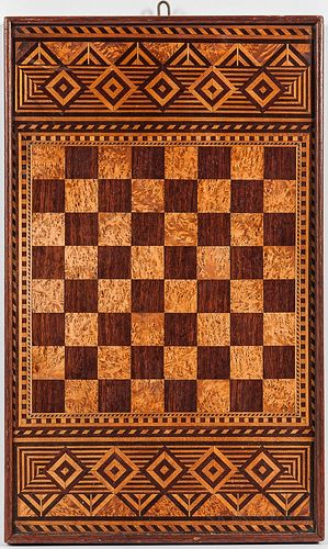 Double-sided Inlaid Game Board