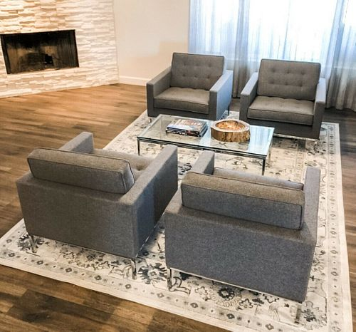 Knoll - Florence Knoll Relaxed Lounge Chairs &