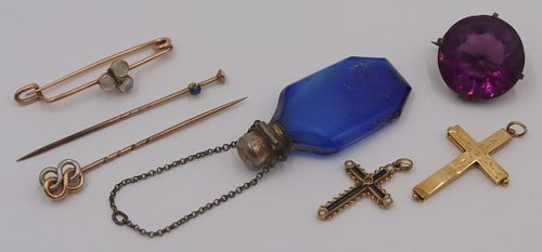 JEWELRY. Assorted Antique and Vintage Jewelry.