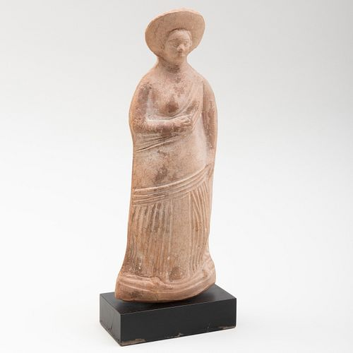 Greek Terracotta Female Figure, possibly Boeotian