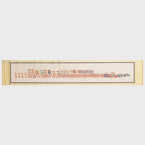 Chinese Marriage Handscroll