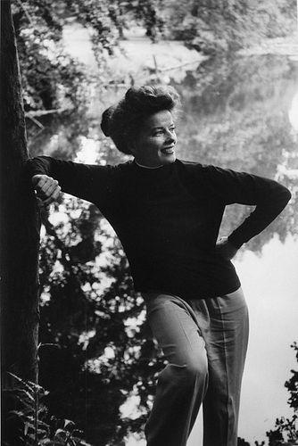 Artist: Burt Glinn: Katharine Hepburn, England, 1959 - Courtesy of L. Parker Stephenson Photographs, New York
