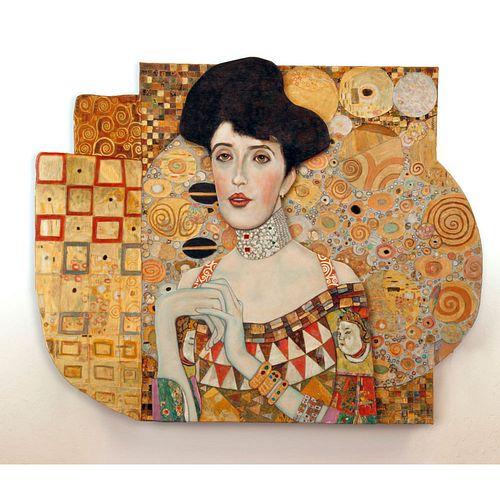 "Linda Mueller ""Portrait of Adele Bloch Bauer"""